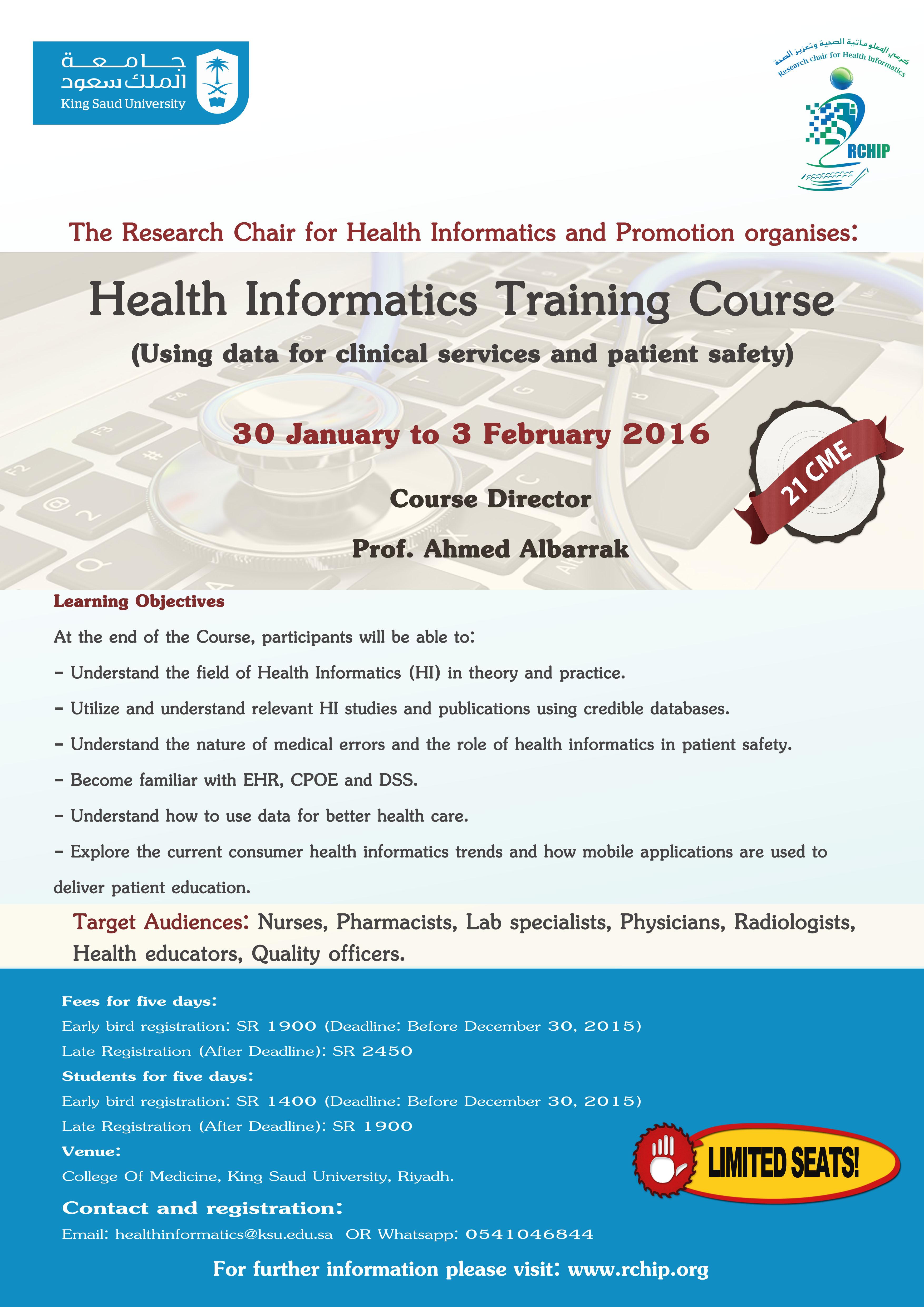 health informatics 2016 poster